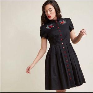Size large HellBunny❤️Amora Dress pinup